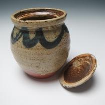 lidded jar and lid #2