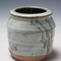 Vase, reduction stoneware, 14cm x 16cm, 2014